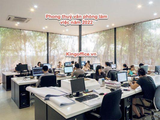 phong thuỷ văn phòng làm việc năm 2022