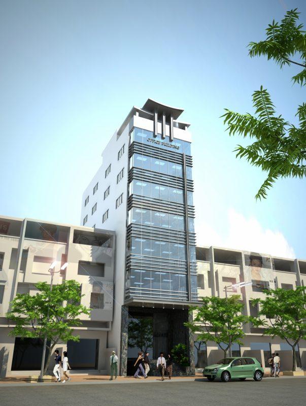Hình ảnh minh họa tòa nhà văn phòng cho thuê