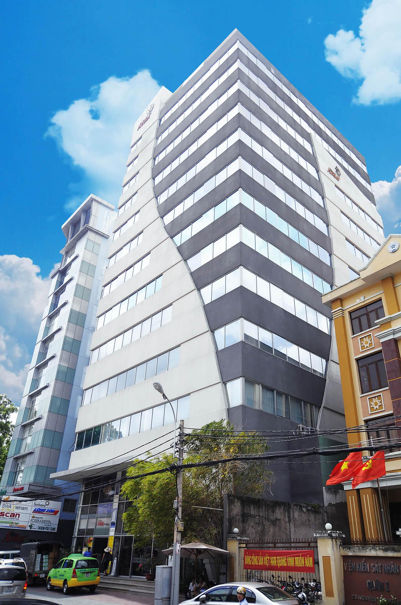 Miss Áo Dài Building -Tòa nhà tọa lạc trên mặt tiền đường Nguyễn Trung Ngạn