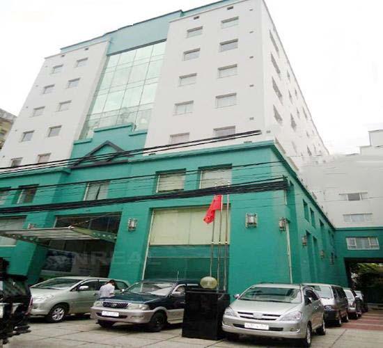 Tòa nhà Thiên Sơn Building kiến trúc hiện đại, mang nét sang trọng