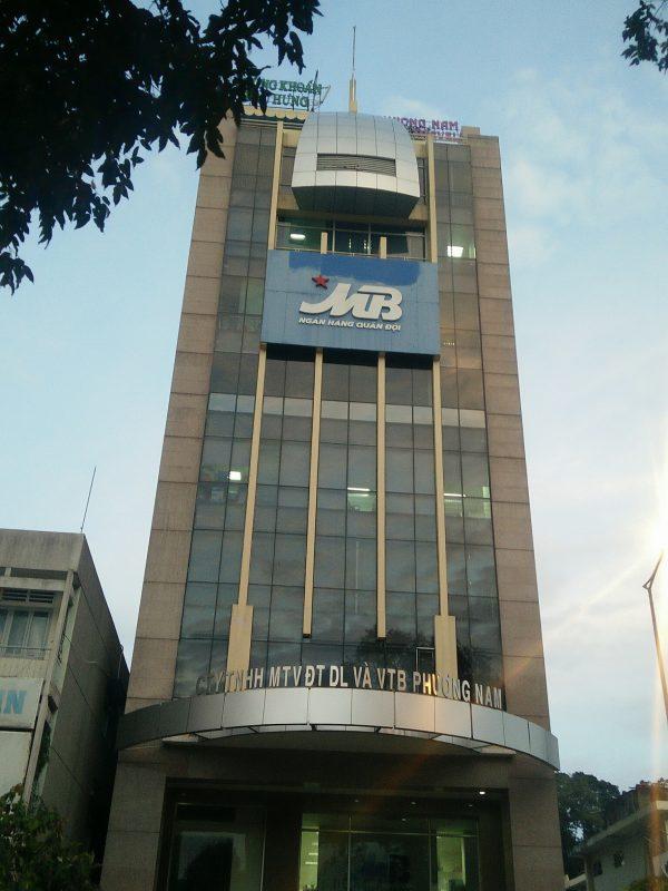 Octagon Building tọa lạc trên mặt tiền đường Võ Thị Sáu