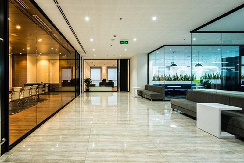 Hình ảnh văn phòng tòa nhà cho thuê chuyên nghiệp