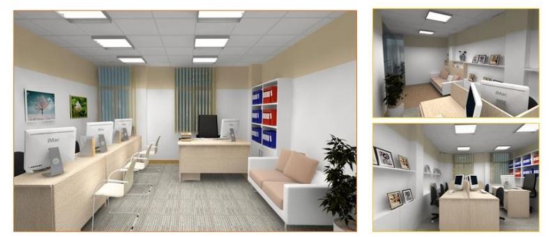 Bạn cần nhớ rằng có nhiều loại văn phòng, từ văn phòng hoàn chỉnh