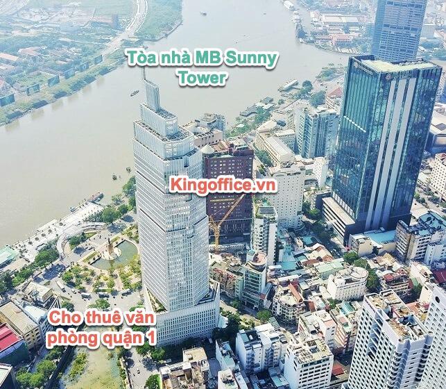Tòa nhà Vietcombank Tower cho thuê văn phòng quận 1